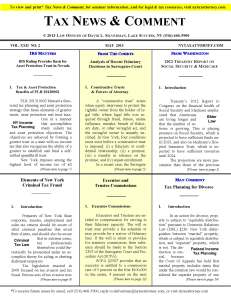 Analysis of 2012 Fiduciary Decisions in Surrogates Court